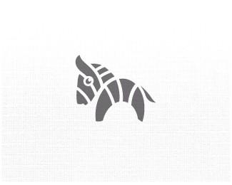 小斑马标志logo