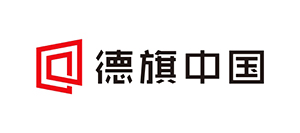 签约德旗中国房地产,委托柒奇设计进行logo设计工作