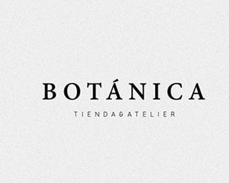 Botánica植物商店品牌标志设计