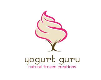 酸奶大師logo設計