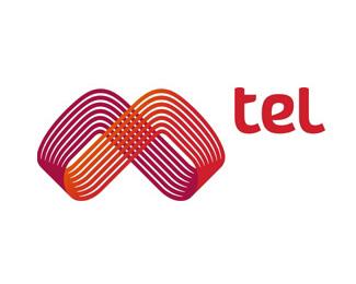 移動運營商M-Tel標志設計