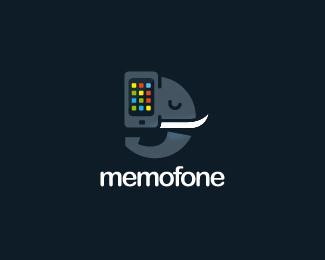 memofone标志商标
