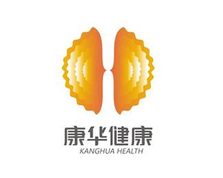 康華健康logo設計