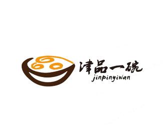 津品一碗餐饮标志设计
