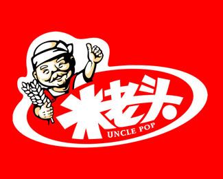 米老頭食品標志設計欣賞