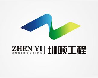 圳頤工程標志設計