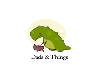 恐龙奶爸标志