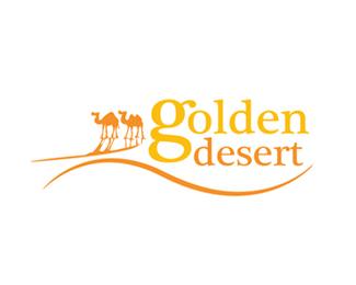 金色的沙漠,旅游标志