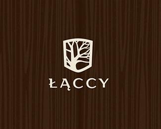 木材貿易公司標志設計