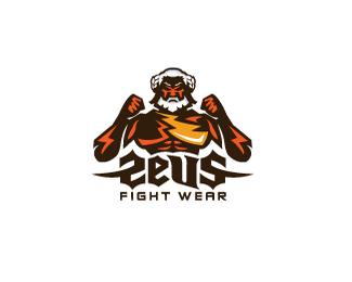 国外拳击手标志设计
