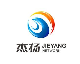 杰扬网络科技标志设计欣赏
