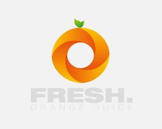 鲜橙子标志