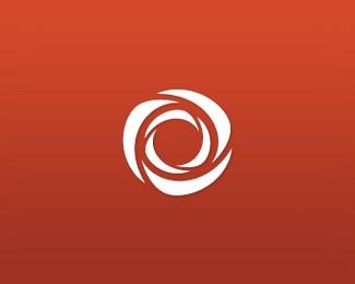 玫瑰花logo标志