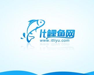 鲤鱼网标志设计