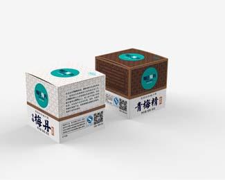 江苏梅丹健康食品公司,每日梅丹包装设计欣赏