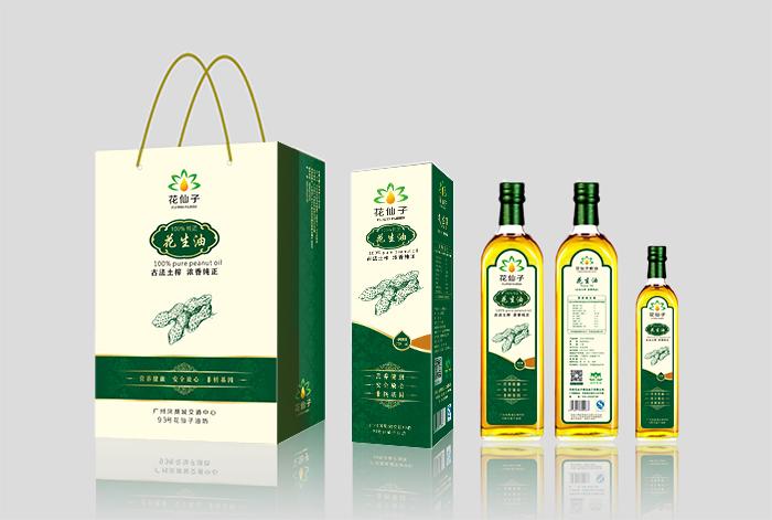 廣州花仙子糧油加工有限公司,花仙子油坊包裝設計
