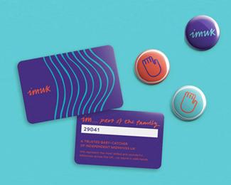 英国独立助产士组织IMUK 形象VI设计