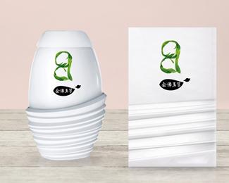 金佛玉翠茶叶包装设计欣赏