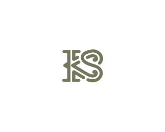 KS字母组合设计