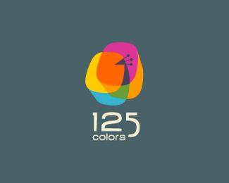 比利时125色网页设计公司标志