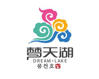 韩式梦天湖商务会馆标志