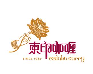 东印咖喱餐饮品牌标志设计