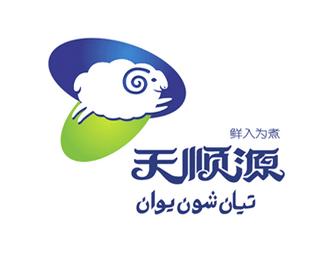 哈爾濱天順源清真食品有限公司標志設計