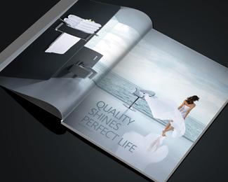 畫冊設計中文字設計遵守四條原則,可讀性,個性,美感,創造性