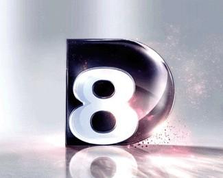 D8娱乐频道标志欣赏
