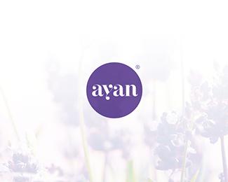化妝品品牌商標AYAN