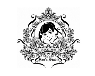 范冰冰的工作室logo设计