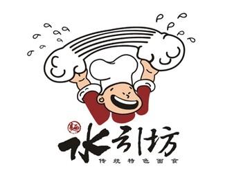 水引坊餐饮标志设计