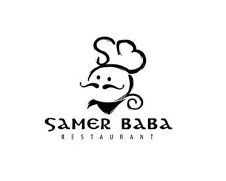 萨默尔巴巴厨师标志