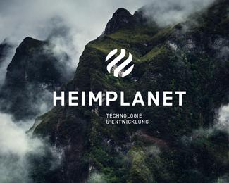 德国户外用品品牌新颖的充气帐篷设计Heimplanet(企业vi设计)
