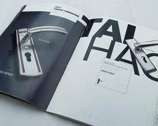 江门门锁画册设计
