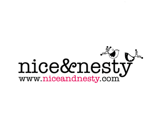 網站niceandnesty標志設計