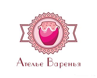 國外果醬工作室logo設計
