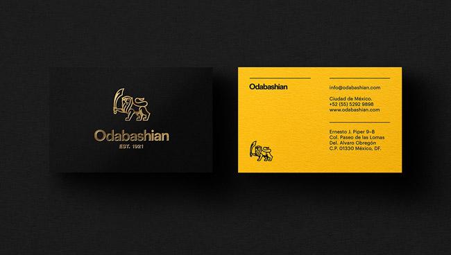郑州odabashian地毯品牌标志设计和VI设计