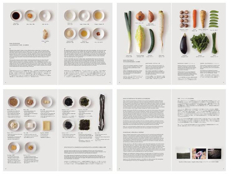 欣赏简洁日本食品画册设计案例