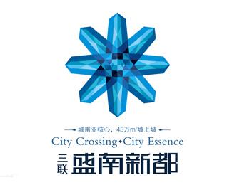 广州盛南新都LOGO设计