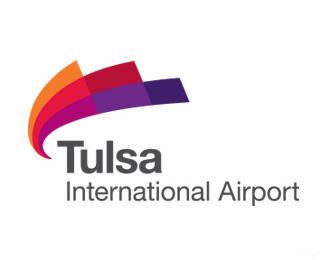 塔尔萨国际机场(Tulsa International Airport)Logo