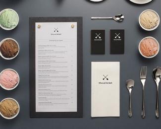广州铲&贝尔餐饮品牌形象设计欣赏