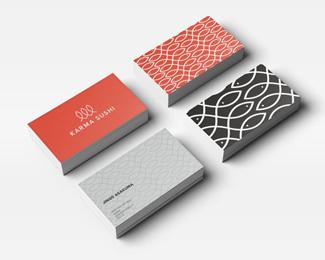 创意寿司品牌vi设计欣赏案例