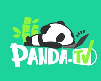 上海熊猫互娱文化TV标志