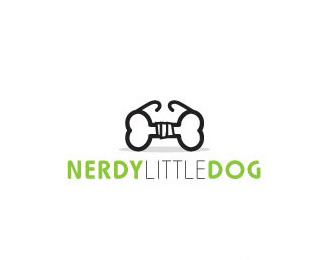 nerdy little dog