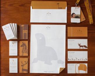 国外动物的品牌vi形象设计案例欣赏
