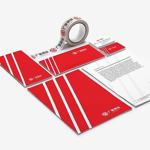 无锡广宝钢业标志设计
