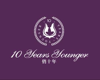 十年品牌,红酒标志设计欣赏