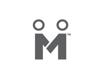 M字母标志