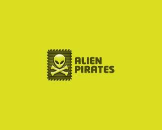 外星人logo设计